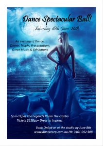 June Dance Spectacular Ball @ Legends Function Room the Gabba | Woolloongabba | Queensland | Australia