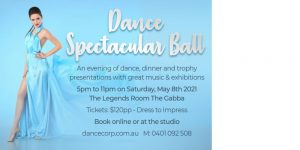 MAY DANCE SPECTACULAR BALL @ The Gabba Legends Room